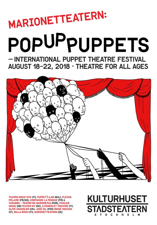 Marionetteatern Pop Up Puppets