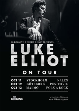 Luke Elliot on Tour