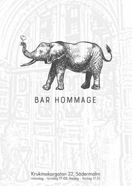 Bar Hommage poster