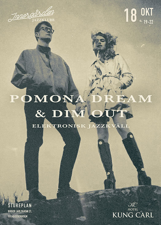 Pomona Dream Jazz Poster