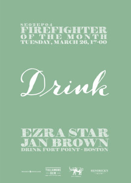 Firefighter of the month: Drink Fort Point