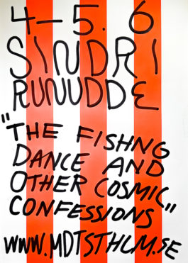 Sindri Runudde: The Fishing Dance & Other Cosmic Confessions